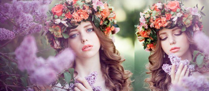 Свадебная_фотосессия_с_венком_цветов_на_голове